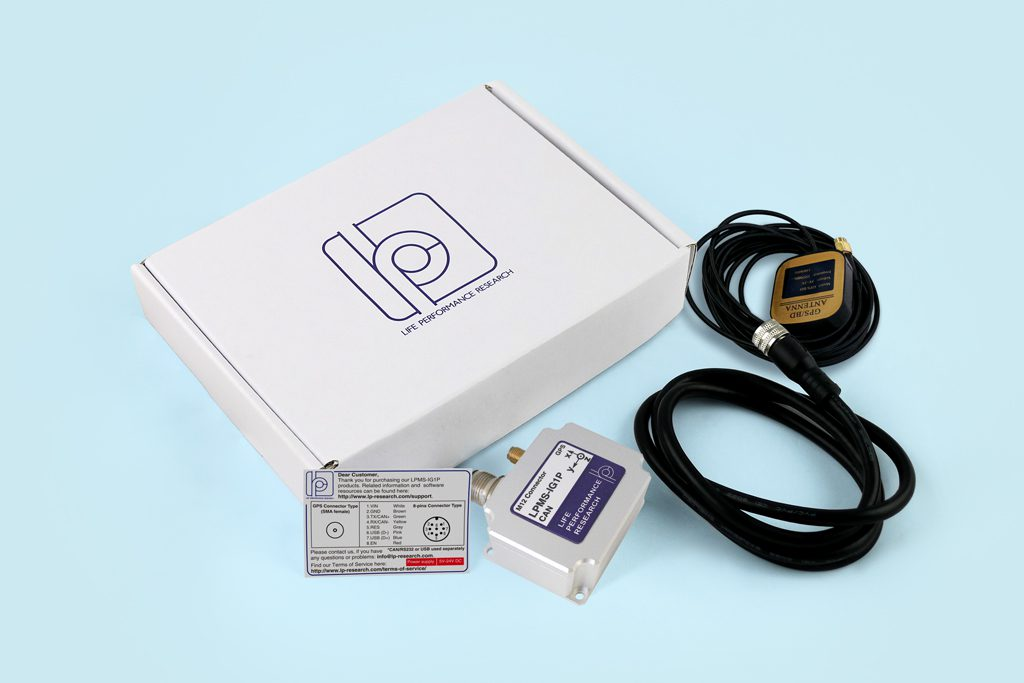 IMU with GPS antenna package contents