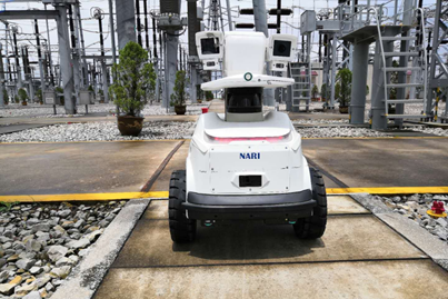 Autonomous guided vehicle (AGV)